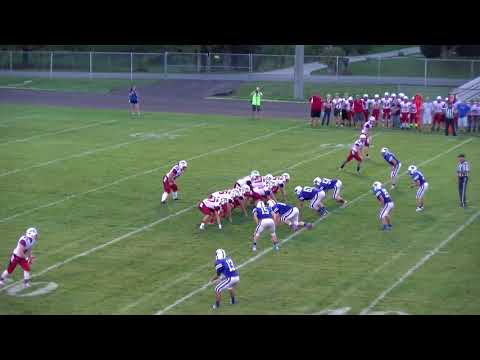 Knox HS vs Laville Jr-Sr HS Football - Sept 22, 2017