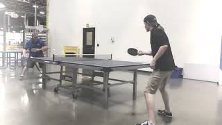 Table Tennis at Work