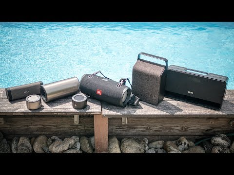 The [very] best portable Bluetooth speakers - summer 2018