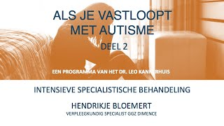 Intensieve specialistische behandeling bij autisme