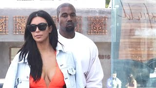 Kim Kardashian And Kanye West Drop By Maxfield