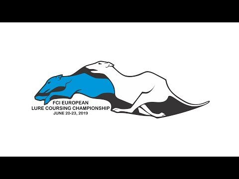 FCI European Lure Coursing Championship 2019 Day 2, track 1