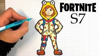 HOW TO DRAW ONESIE SKIN - FORTNITE S7