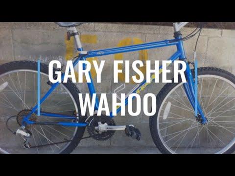 GARY FISHER WAHOO Vintage Rigid Mountain Bike 90's