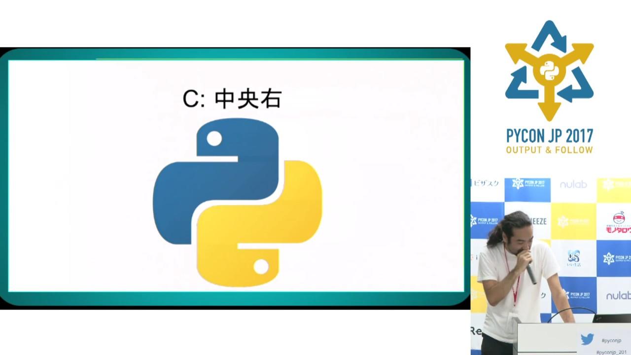 Image from クイズ・python勝ち抜きバトル!! (Motohiro Ueki) - PyCon JP 2017