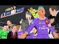 Parodia animada del Juventus 1 4 Real Madrid de la Final de Champions 2017