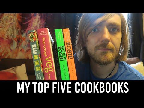 My Top Five Vegan Cookbooks!