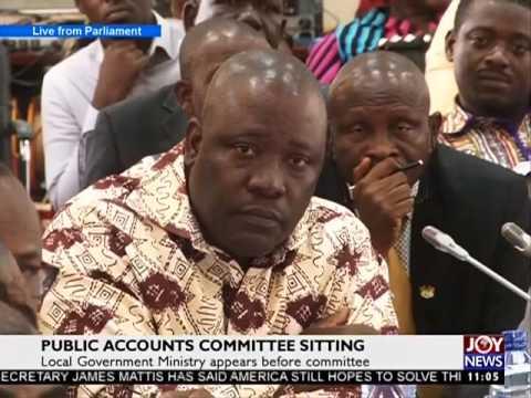 Public Accounts Committee Sitting - News Desk on Joy News (11-8-17)