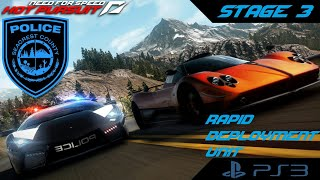 Need for Speed Hot Pursuit (PS3) - Stage 3 [Cop Career] (Rapid Deployment Unit)