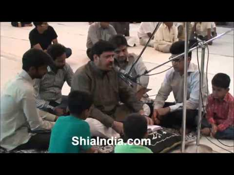 Jab Naujawan pisar shah-e-deen se juda huwa marsiya by mujahed ali marsiya khan