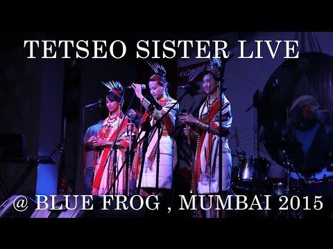 Tetseo Sister LIVE  in  Mumbai Nov 2015  | AMAZING SONG | TRADITIONAL NAGA