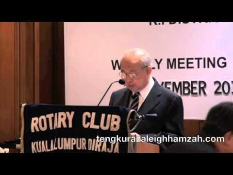 Tengku Razaleigh 2011 - Our Electricity Concern