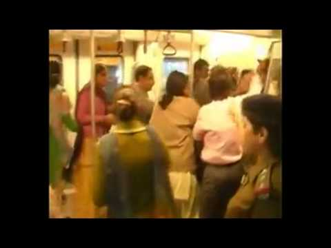 Delhi Metro Ladies compartment War
