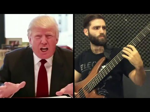 "Metal version of Trump saying ""China"" by A Dying Ultimatum"
