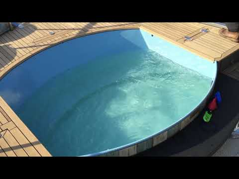 Use your bow thruster to rapidly fill up the swimming pool!