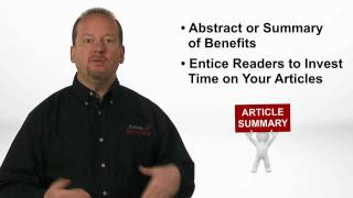 5 Tips to Create That Perfect Article Summary