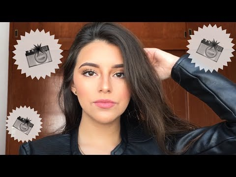 Maquillaje Para Un Shoot/ Sesión De Fotos📸
