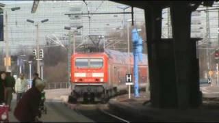 Techno pur ! Ein Tag in Halle(Saale) und Leipzig mit 185 152 (K+S) und 415 022 Teil1 ( 27.03.10 )
