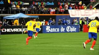 1495 Sports video look from the Chile/Ecuador soccer match at Citi Field