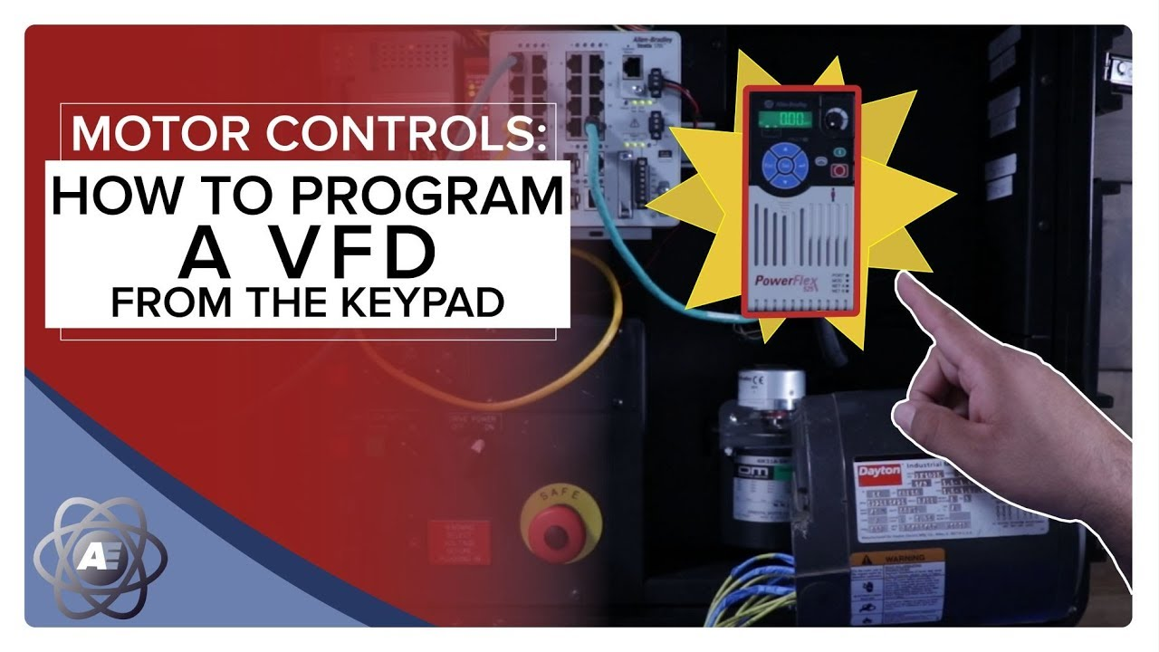 Programming A Vfd From The Keypad