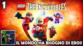 IL MONDO HA BISOGNO DI EROI! - LEGO GLI INCREDIBILI | EP.1 ►PS4◄
