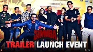Simmba Trailer Launch Event | Ranveer Singh, Sara Ali Khan, Sonu Sood, Karan Johar | Rohit Shetty
