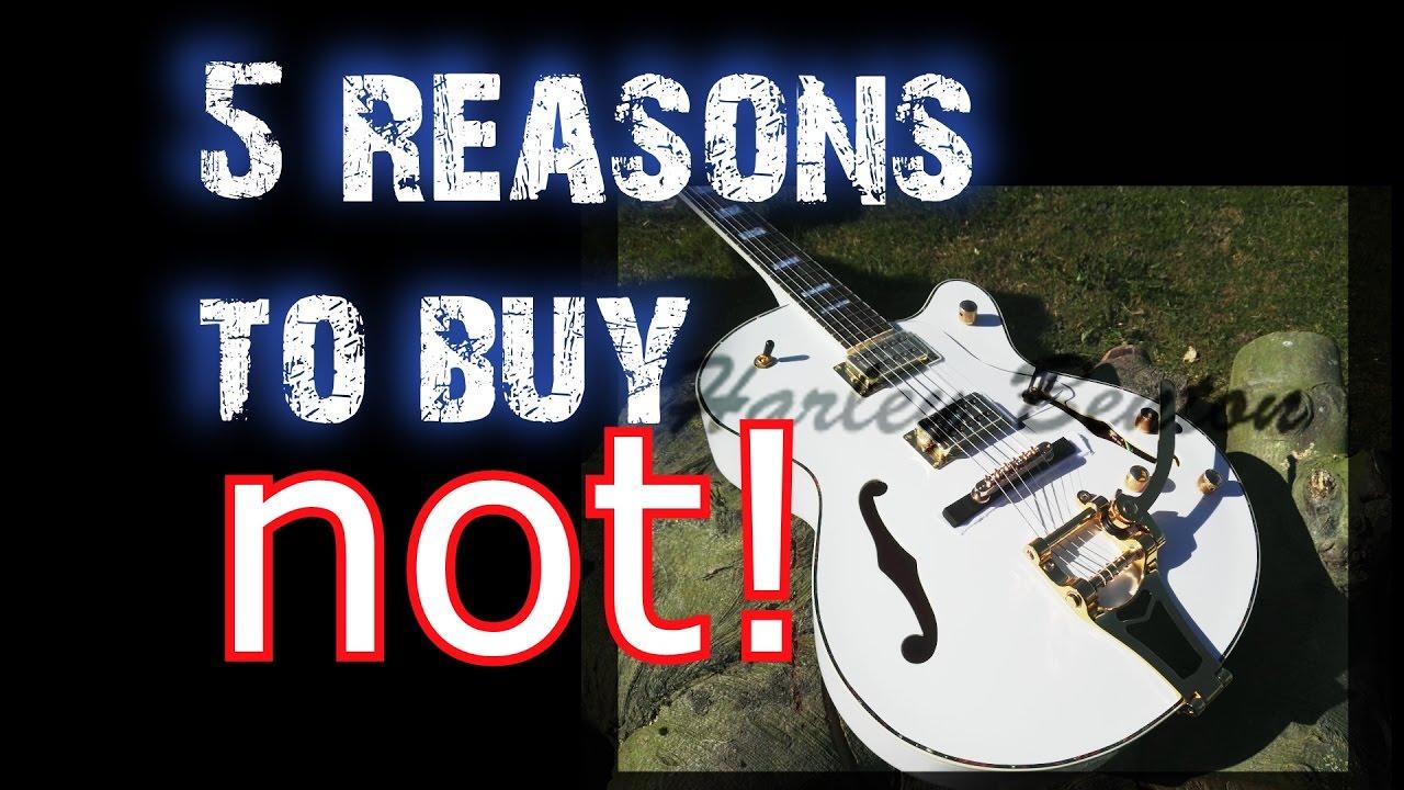 5 REASONS NOT TO BUY HARLEY BENTON ✌