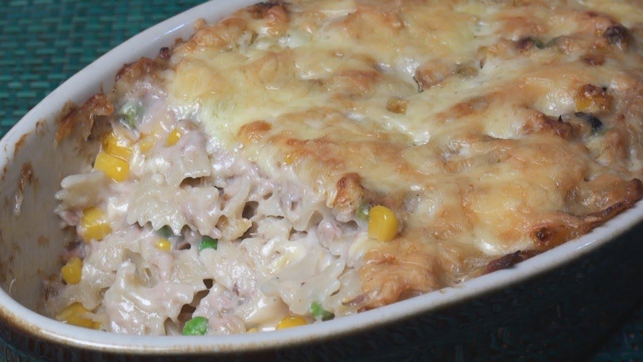 Tuna pasta bake recipe white sauce