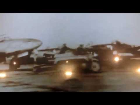 The first turbojet airplane Heinkel He178  taking off 1939