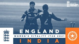 England v India - Highlights   India Level Series!   2nd Women's Vitality IT20 2021