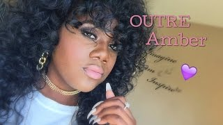 Outre Amber|Ways to style your half wigs!