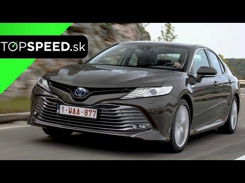 Toyota Camry Hybrid 2019 Jazda - Alex ŠTEFUCA TOPSPEED.sk