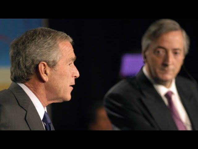 No al ALCA: Hace 10 años la región rechazaba el tratado de libre comercio - YouTube