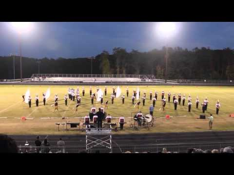 Fuquay Varina High School Marching Bengals at 2015 NW Guilford Fall Festival