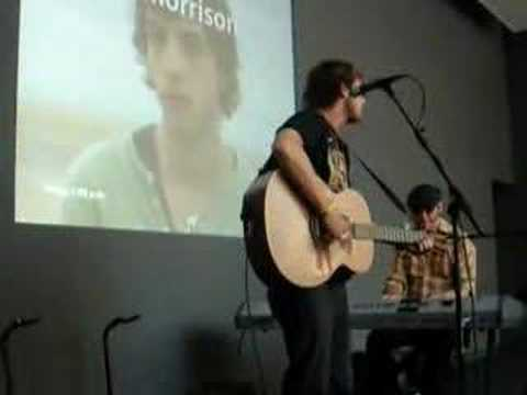 James Morrison Undiscovered Live Apple Store SF