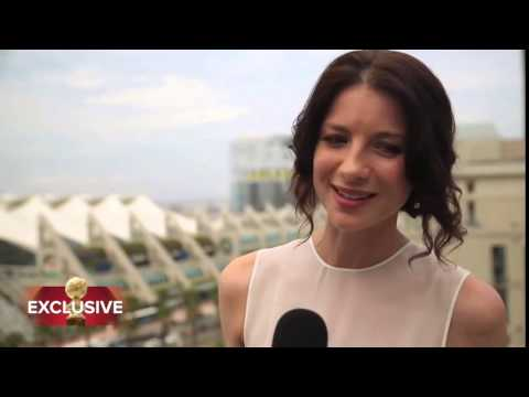 Interview with Outlander Stars Caitriona Balfe and Sam Heughan ...