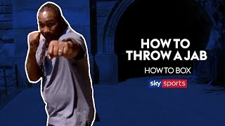 How to Throw a Jab | Lennox Lewis Masterclass | How To Box