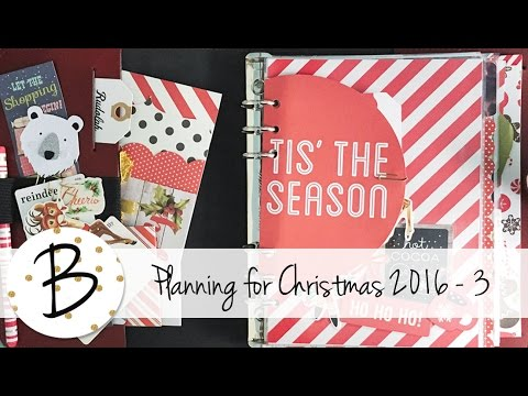 Planning for Christmas 2016 - Part 3