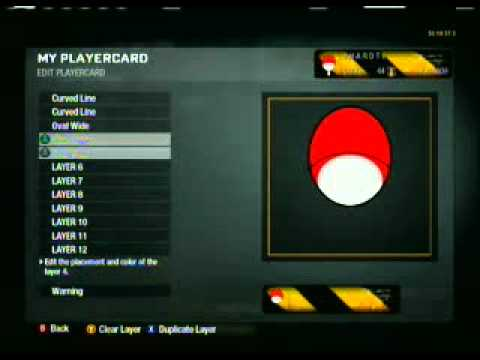 Black Ops Emblems Episode 3 Uchiha Clan Crest Youtube