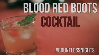 The Blood Red Boots Cocktail | Life and Times of Blood Red Boots