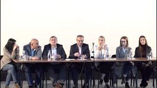 «Հայաստան» խմբակցության պատգամավորները Գյումրիում ներկայացրել են երկրի ներսում առկա խնդիրները, տարածաշրջանային իրավիճակը