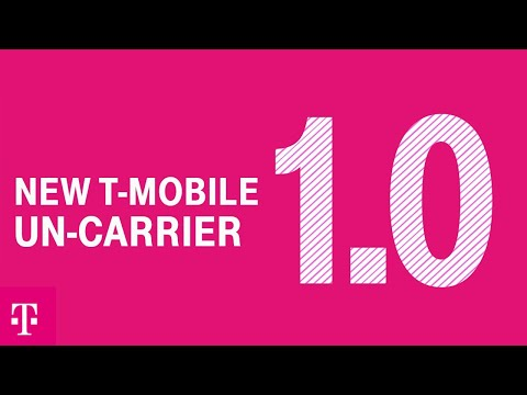 Introducing New T-Mobile Un-carrier 1.0: 5G For Good