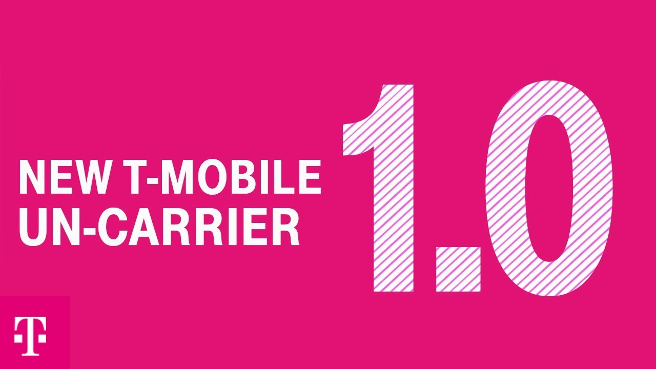 Introducing New T Mobile Un Carrier 1 0 5g For Good Youtube