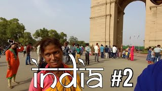 "Travel in New Delhi India - The MOST intense TOUTS (how many ""no thank you's"")"