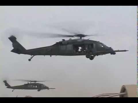 USAF Pararescuemen In Iraq