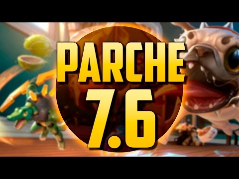 LA SKIN DE MI PERRO | PARCHE 7.6 (League of Legends)