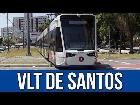 Veículo Leve Sobre Trilhos (VLT) da Baixada Santista - 2017