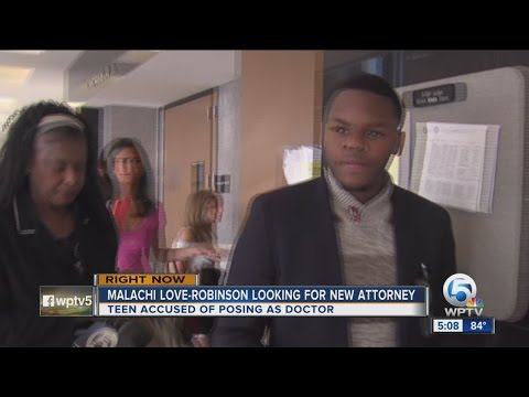 Malachi Love-Robinson looking for new attorney
