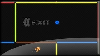 Neon Maze Game