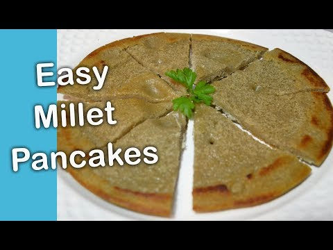 HOW TO MAKE MILLET/MAHANGU BREAKFAST PANCAKES?  OSHIKWIILA NAMIBIAN RECIPE (AFRICAN FOOD) - lempies